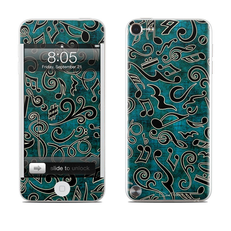 Music Notes iPod touch 5th Gen Skin