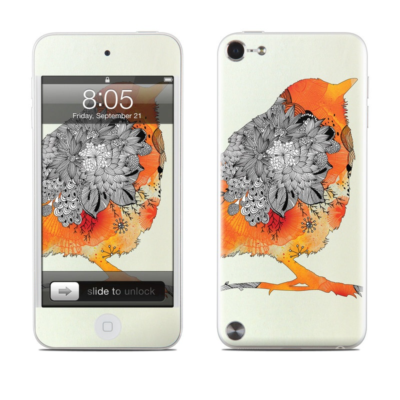 Orange Bird iPod touch 5th Gen Skin