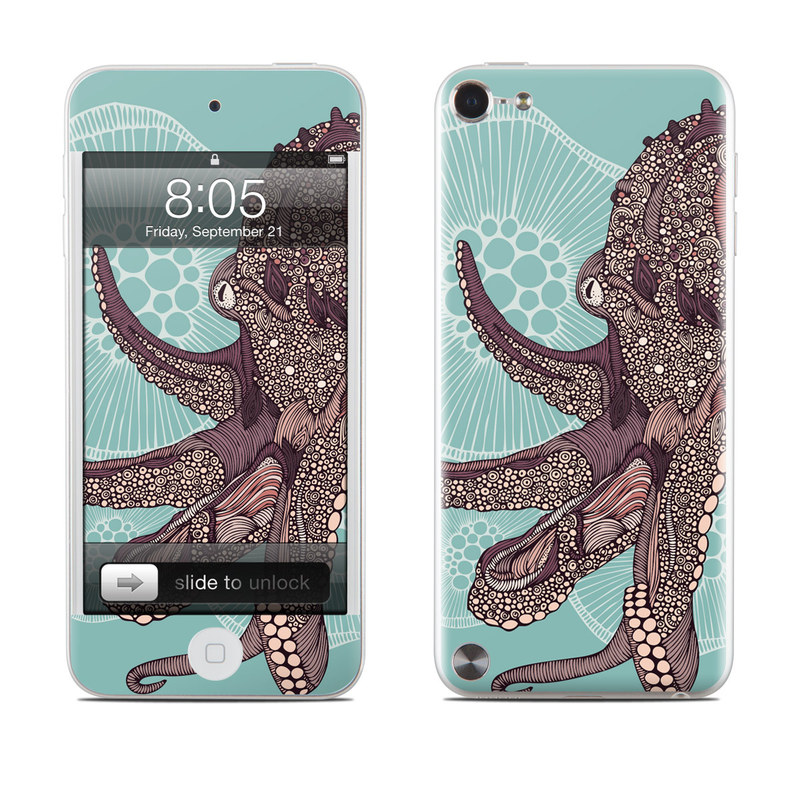 Octopus Bloom iPod touch 5th Gen Skin