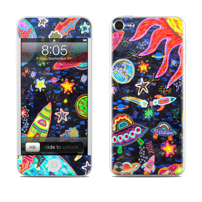 Out to Space iPod touch 5th Gen Skin