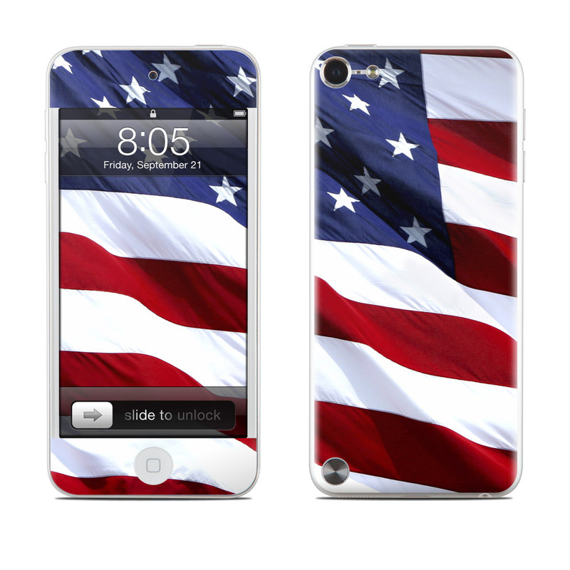 Patriotic iPod touch 5th Gen Skin