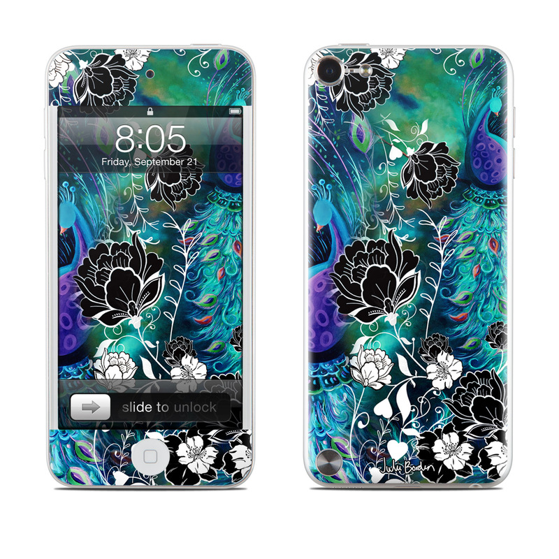 Peacock Garden Ipod Touch 5th Gen Skin Istyles