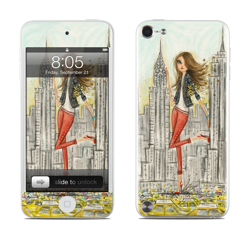 The Sights New York iPod touch 5th Gen Skin