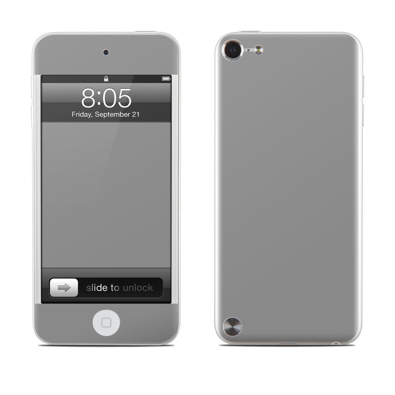 Solid State Grey iPod touch 5th Gen Skin