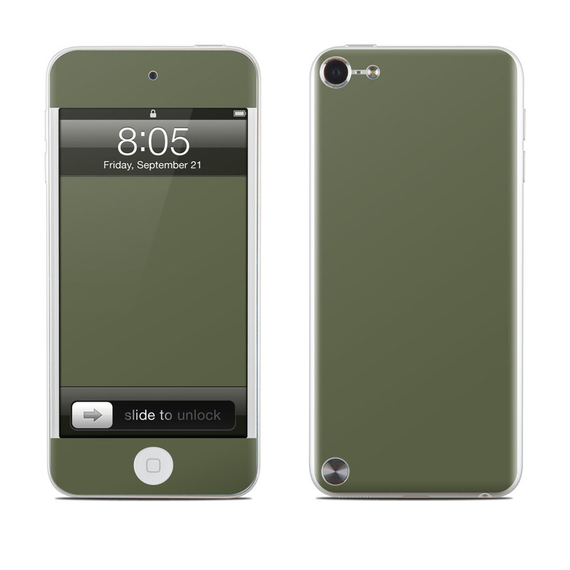 Solid State Olive Drab iPod touch 5th Gen Skin