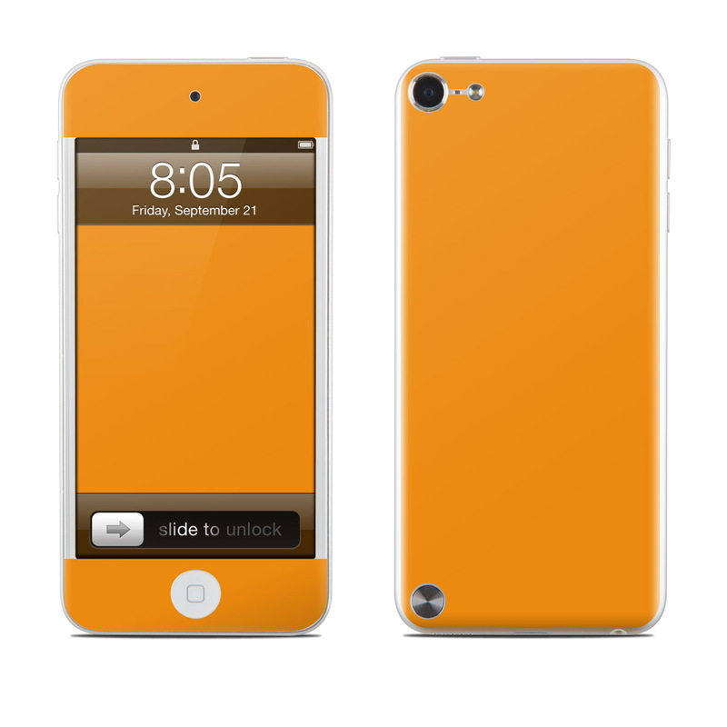 Solid State Orange iPod touch 5th Gen Skin