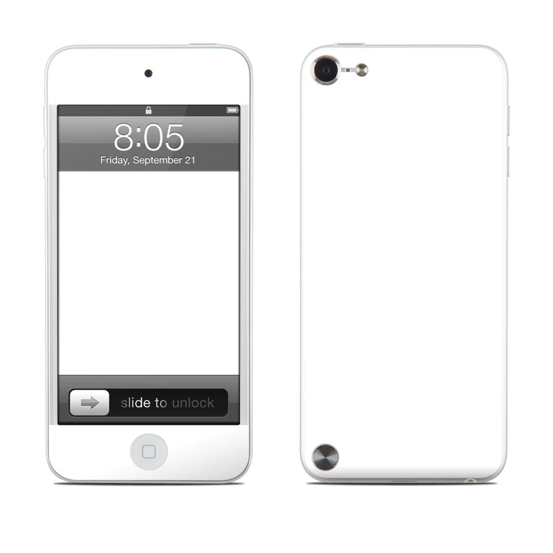 Solid State White iPod touch 5th Gen Skin