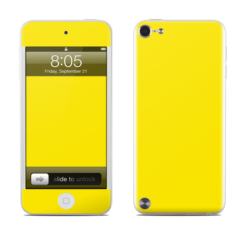 Solid State Yellow iPod touch 5th Gen Skin