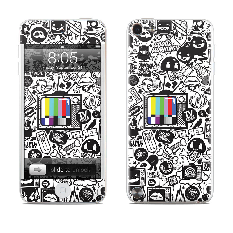 TV Kills Everything iPod touch 5th Gen Skin