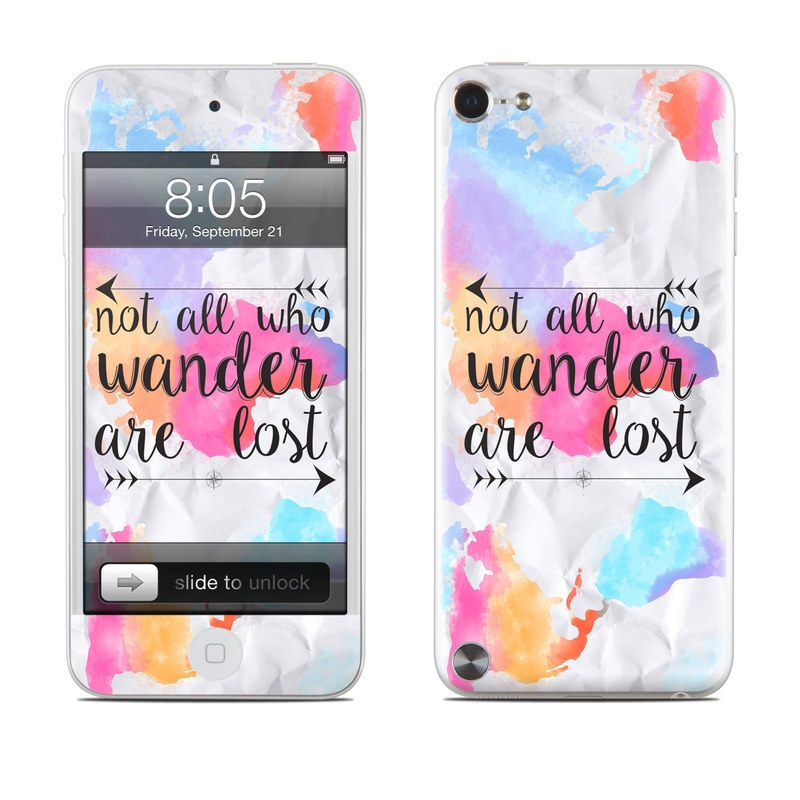 Wander iPod touch 5th Gen Skin