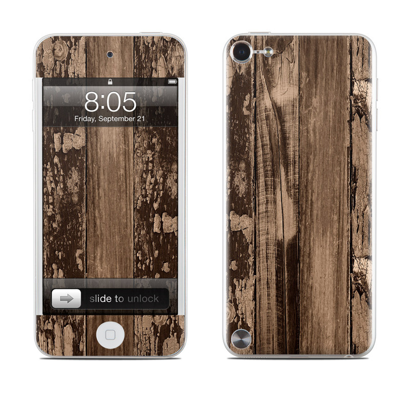 Weathered Wood iPod touch 5th Gen Skin