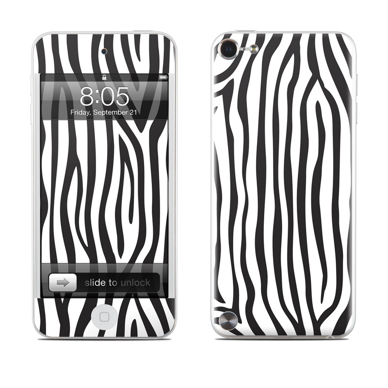 Zebra Stripes iPod touch 5th Gen Skin