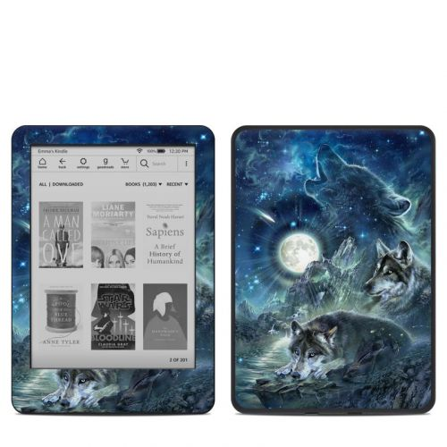 Bark At The Moon Amazon Kindle 10th Gen Skin