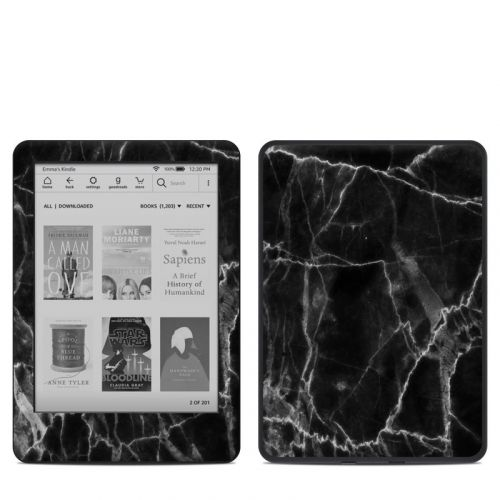 Black Marble Amazon Kindle 10th Gen Skin