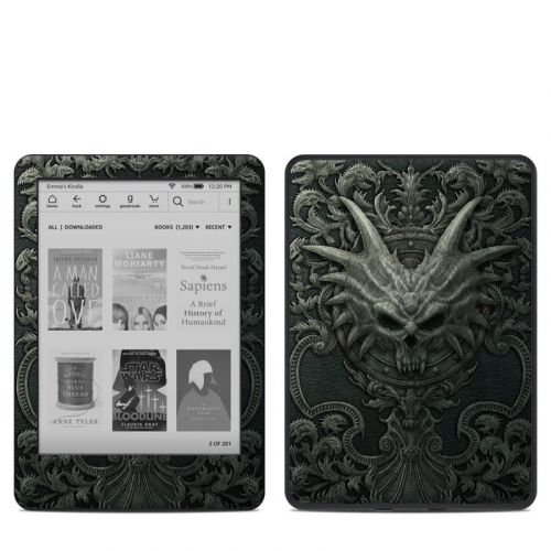 Black Book Amazon Kindle 10th Gen Skin