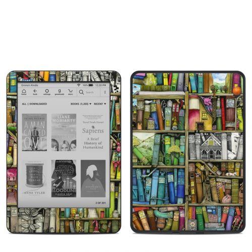 Bookshelf Amazon Kindle 10th Gen Skin