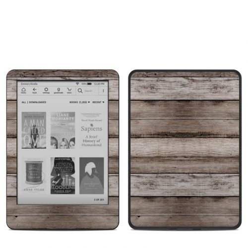 Barn Wood Amazon Kindle 10th Gen Skin