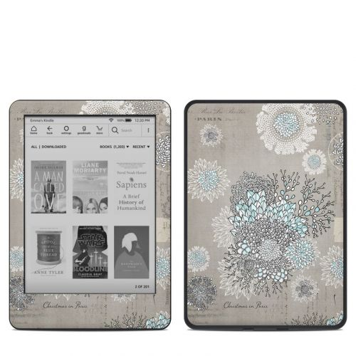 Christmas In Paris Amazon Kindle 10th Gen Skin