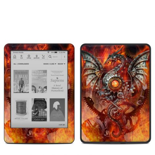 Furnace Dragon Amazon Kindle 10th Gen Skin