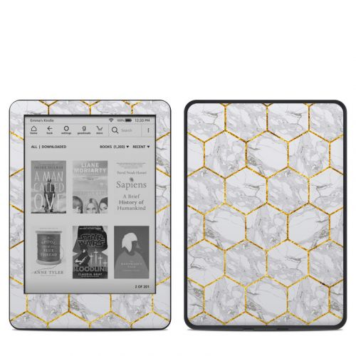 Honey Marble Amazon Kindle 10th Gen Skin