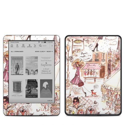Paris Makes Me Happy Amazon Kindle 10th Gen Skin