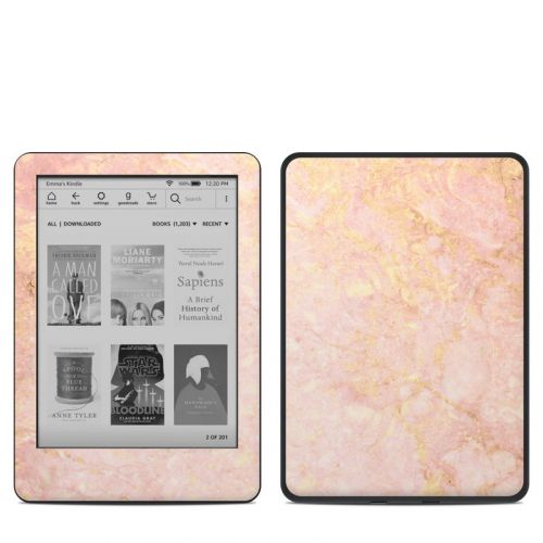 Rose Gold Marble Amazon Kindle 10th Gen Skin