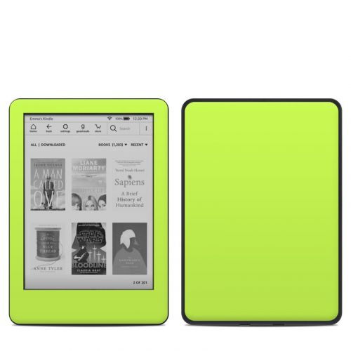 Solid State Lime Amazon Kindle 10th Gen Skin