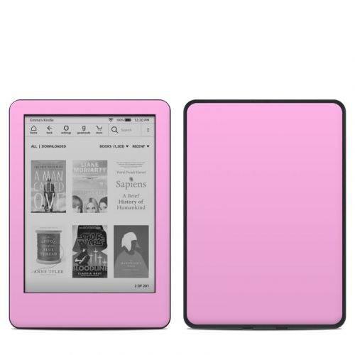 Solid State Pink Amazon Kindle 10th Gen Skin