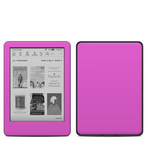Solid State Vibrant Pink Amazon Kindle 10th Gen Skin