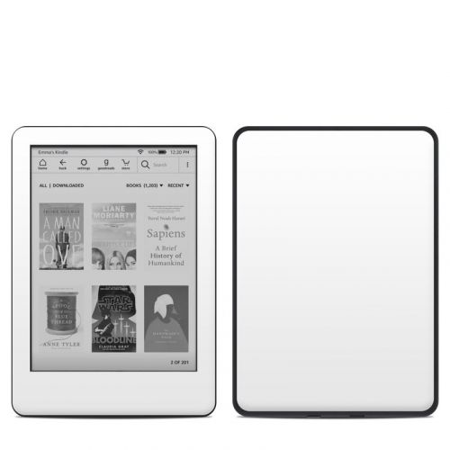 Solid State White Amazon Kindle 10th Gen Skin