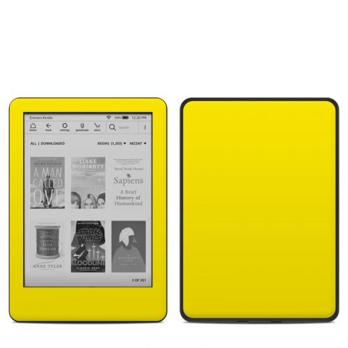 Solid State Yellow Amazon Kindle 10th Gen Skin