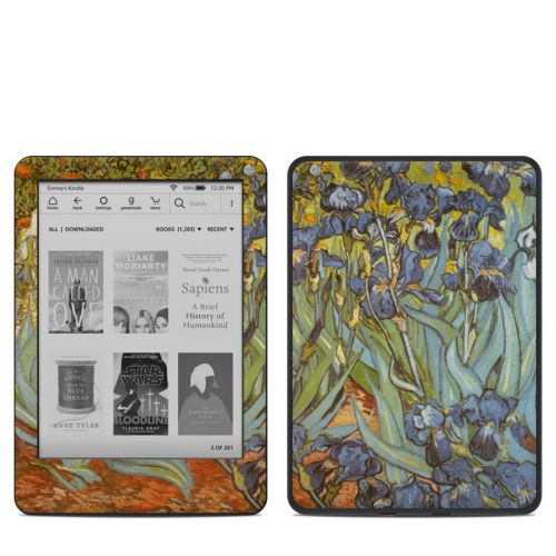 Irises Amazon Kindle 10th Gen Skin