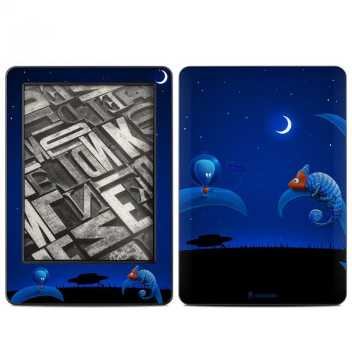 Alien and Chameleon Amazon Kindle (2014) Skin