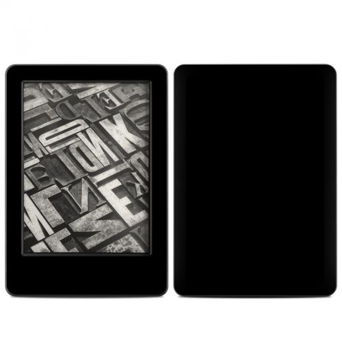 Solid State Black Amazon Kindle (2014) Skin
