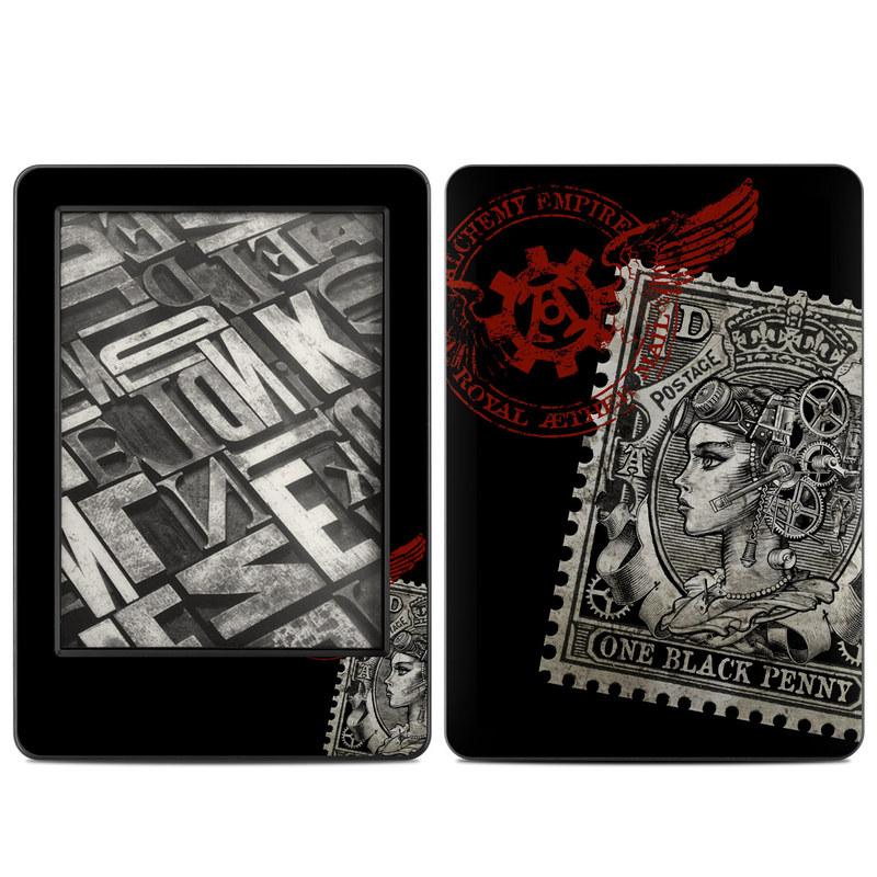 Black Penny Amazon Kindle (2014) Skin