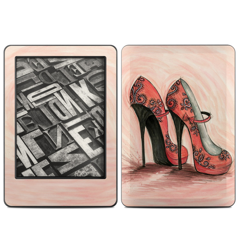 Coral Shoes Amazon Kindle (2014) Skin