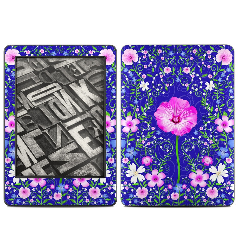 Floral Harmony Amazon Kindle (2014) Skin