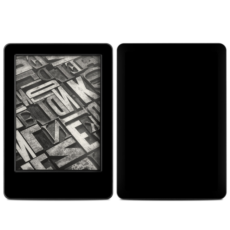Amazon Kindle 7th Gen Skin design of Black, Darkness, White, Sky, Light, Red, Text, Brown, Font, Atmosphere with black colors