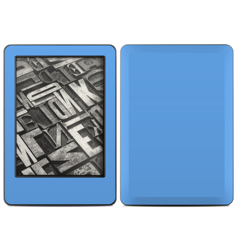 Amazon Kindle 7th Gen Skin design of Sky, Blue, Daytime, Aqua, Cobalt blue, Atmosphere, Azure, Turquoise, Electric blue, Calm with blue colors