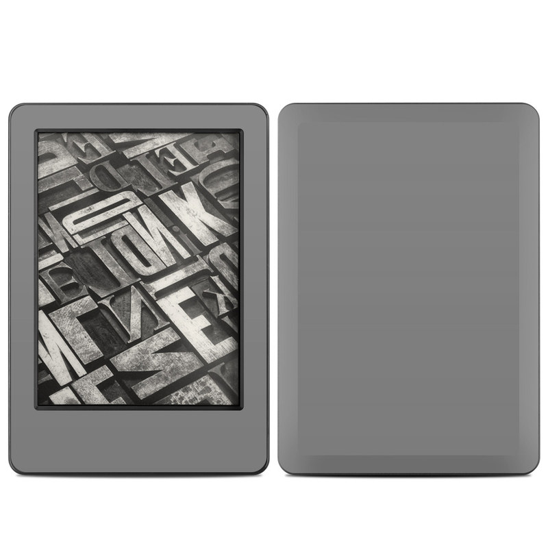 Solid State Grey Amazon Kindle (2014) Skin