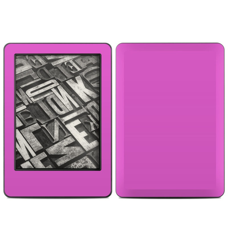 Solid State Vibrant Pink Amazon Kindle (2014) Skin