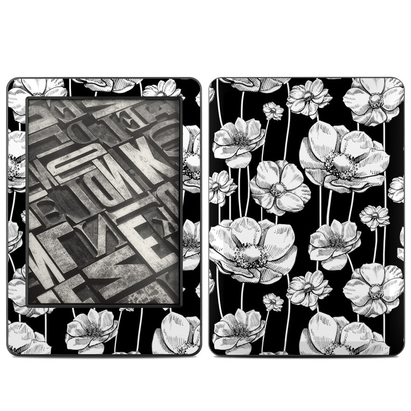 Striped Blooms Amazon Kindle (2014) Skin