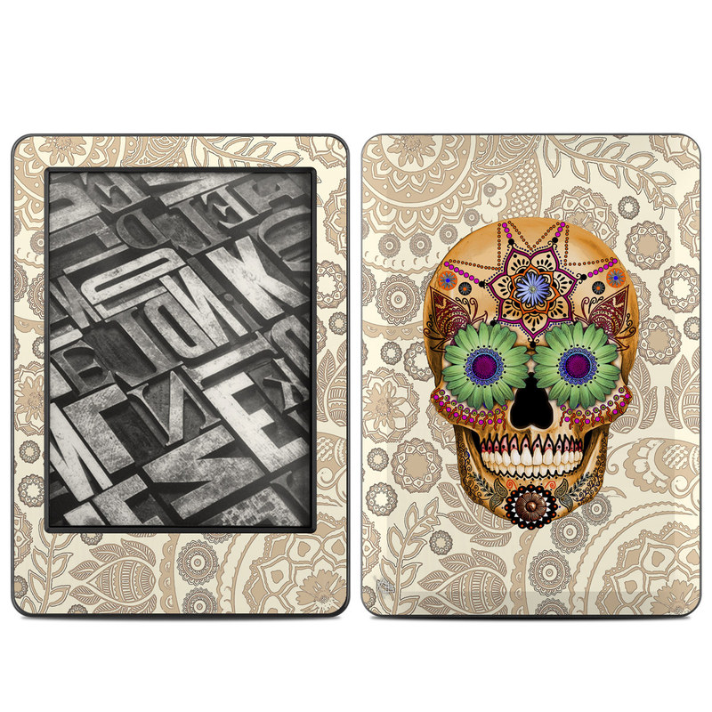 Sugar Skull Bone Amazon Kindle (2014) Skin