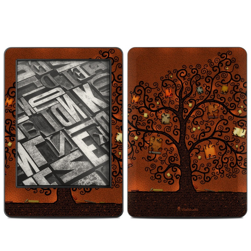 Tree Of Books Amazon Kindle (2014) Skin