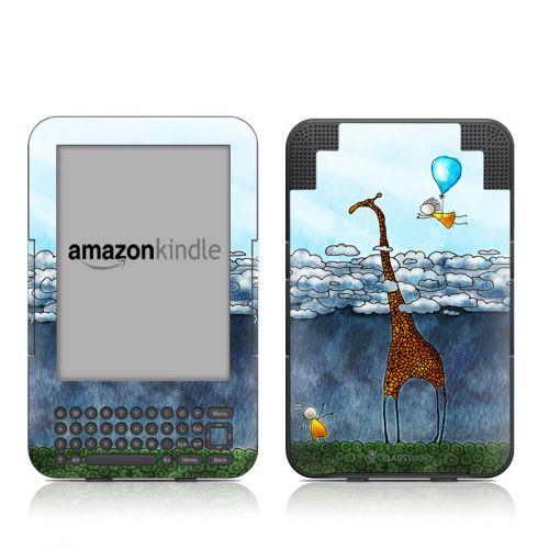 Above The Clouds Amazon Kindle Keyboard Skin