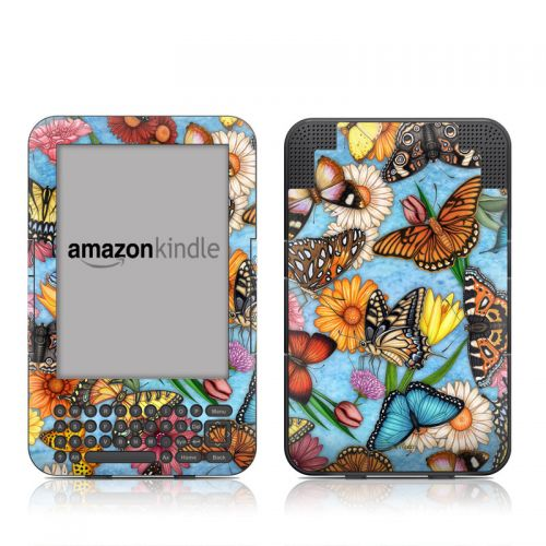Butterfly Land Amazon Kindle 3 Skin