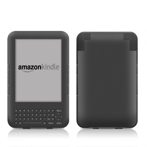 Carbon Amazon Kindle 3 Skin