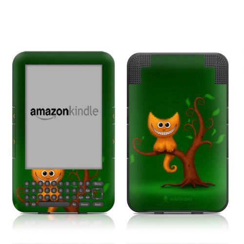 Cheshire Kitten Amazon Kindle 3 Skin