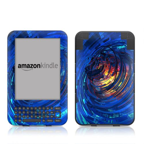 Clockwork Amazon Kindle 3 Skin