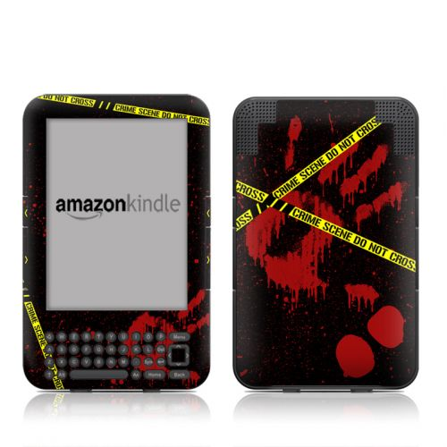 Crime Scene Amazon Kindle 3 Skin